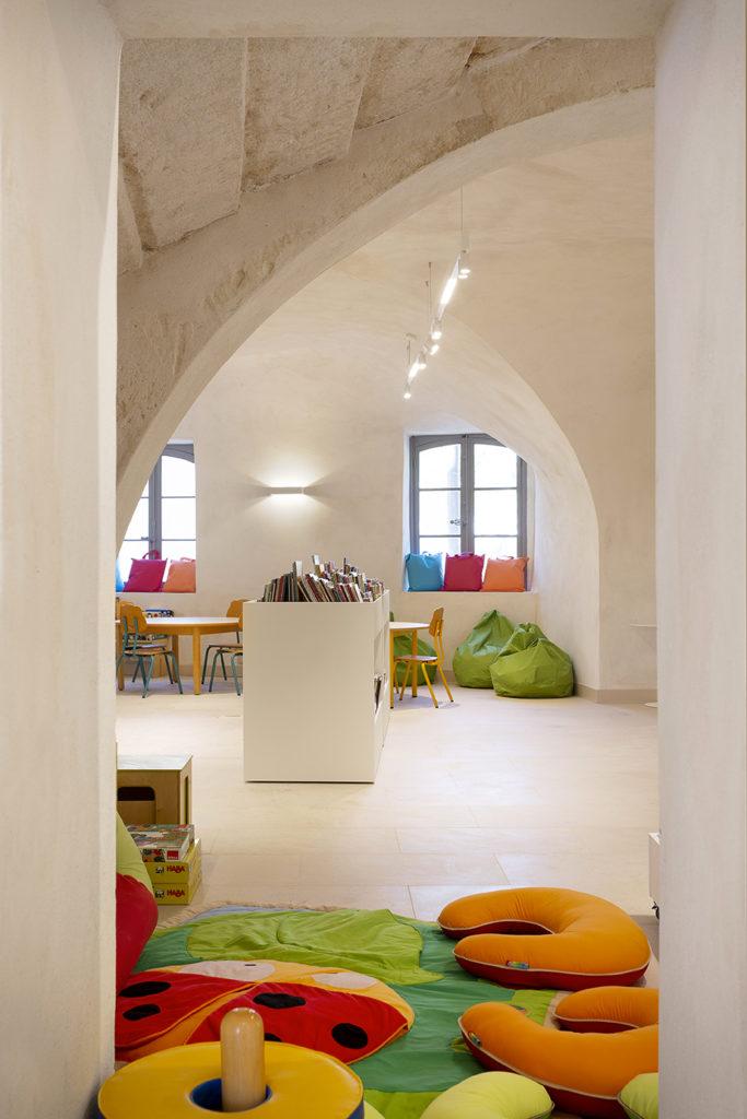 Chateau de Bocaud - MC Lucat - Bibliothèque - Enfants