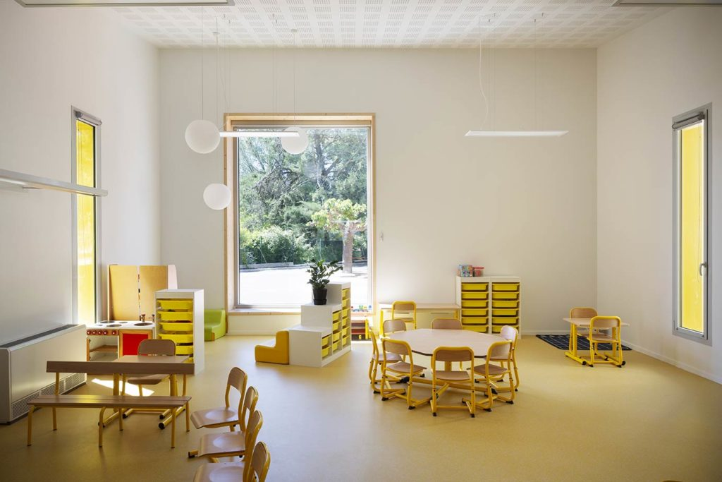 Ecole Maternelle Saint Drezery Extension Architecture 06