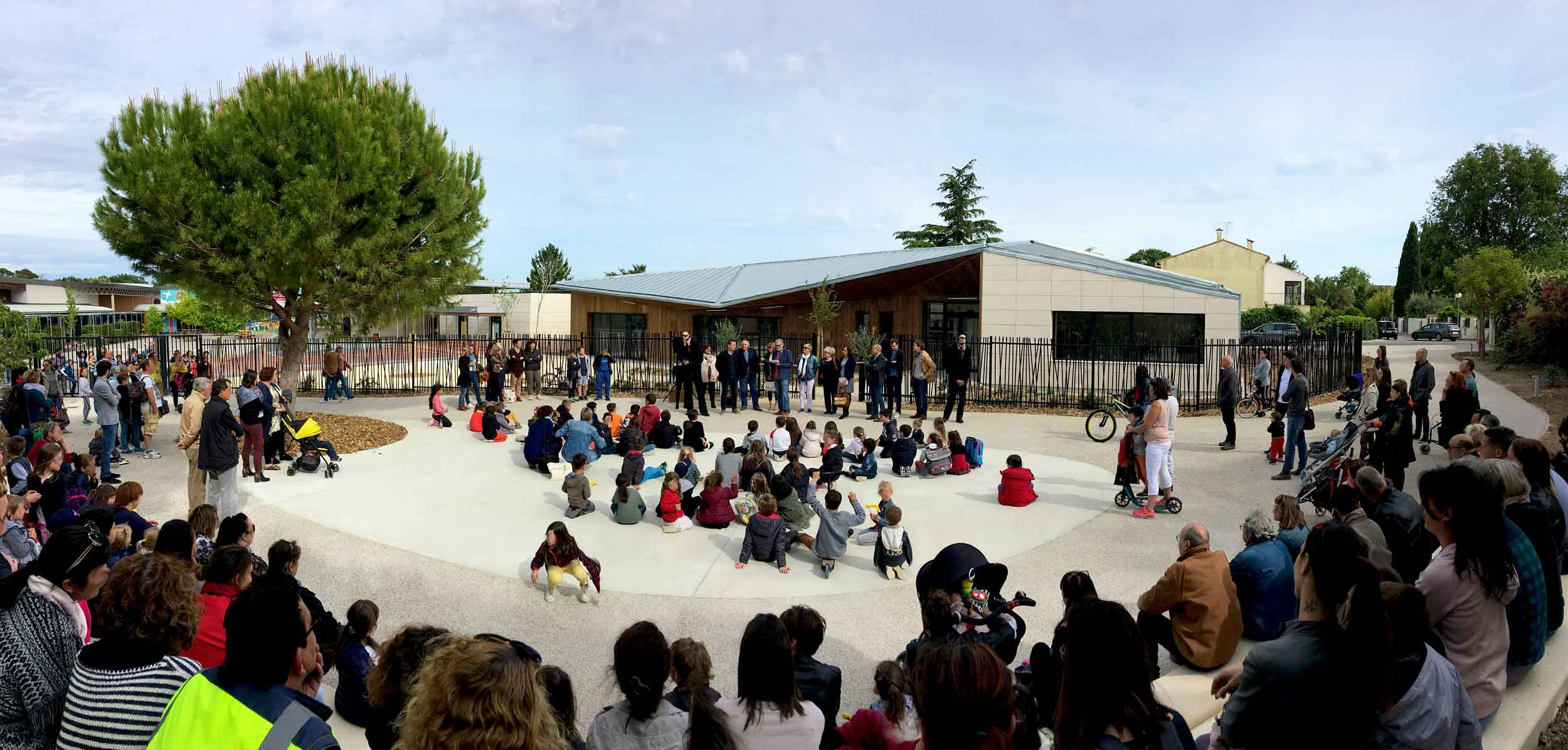 Inauguration Ecole Gustave Courbet Architecture